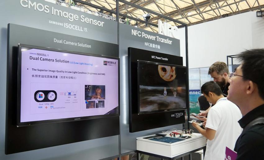 """""""Samsung"""" ən kiçik piksellərə malik yeni sensor təqdim edib"""