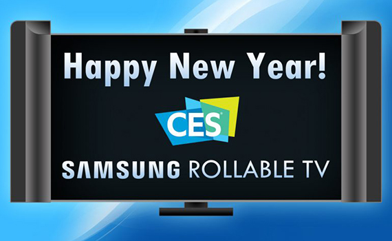 Samsung to present flexible harmonica TV at CES 2019