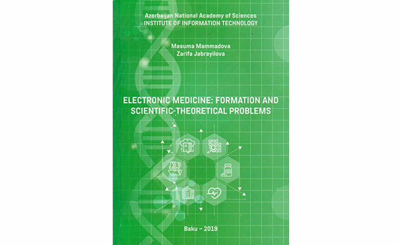 "Published book ""Electronic medicine: formation and scientific-theoretical problems"""