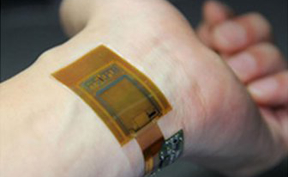 A sensor has been created that can scan fingerprints and vein patterns, as well as measure heart rate