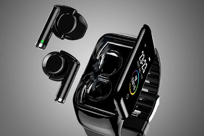 Smart watches and wireless headphones in one gadget