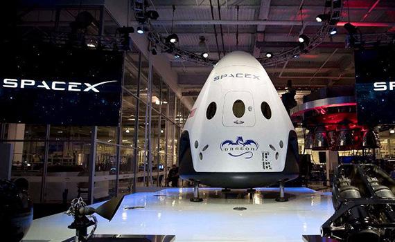 """""""SpaceX"""" ilk dəfə sərnişin kosmik gəmisini kosmosa buraxacaq"""