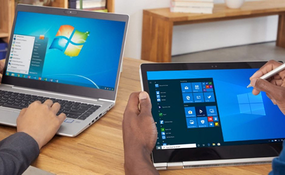 Microsoft recommends Windows 7 users buy a new computer