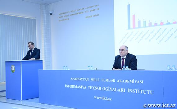 """Akademik Rasim Əliquliyev: """"İnstitutda əldə olunan elmi nailiyyətlərin populyarlaşdırılması vacibdir"""""""