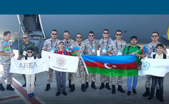 Азербайджанские школьники участвуют в фестивале TEKNOFEST